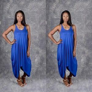 Dresses & Skirts - 🌟Royal Blue Sleevless Harem Maxi Dress 🌟